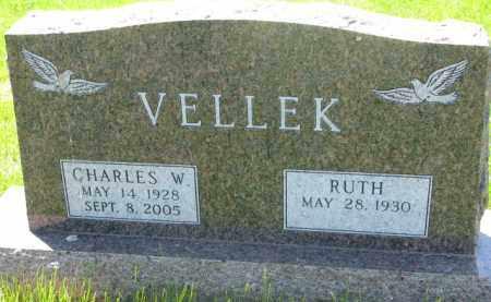 VELLEK, RUTH - Bon Homme County, South Dakota | RUTH VELLEK - South Dakota Gravestone Photos