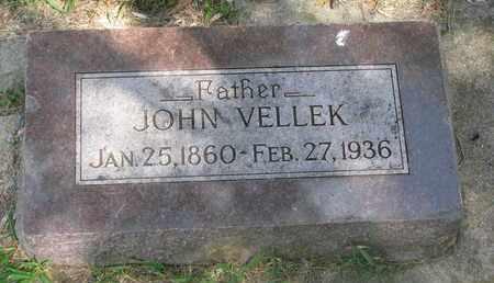 VELLEK, JOHN - Bon Homme County, South Dakota | JOHN VELLEK - South Dakota Gravestone Photos