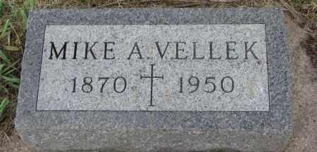 VELLEK, MIKE A. - Bon Homme County, South Dakota | MIKE A. VELLEK - South Dakota Gravestone Photos