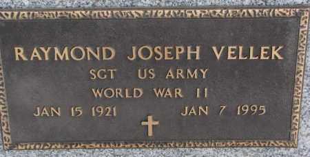 VELLEK, RAYMOND JOSEPH (WW II) - Bon Homme County, South Dakota | RAYMOND JOSEPH (WW II) VELLEK - South Dakota Gravestone Photos