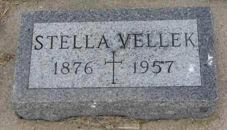 VELLEK, STELLA - Bon Homme County, South Dakota   STELLA VELLEK - South Dakota Gravestone Photos