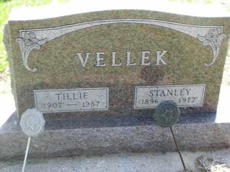 VELLEK, STANLEY - Bon Homme County, South Dakota   STANLEY VELLEK - South Dakota Gravestone Photos