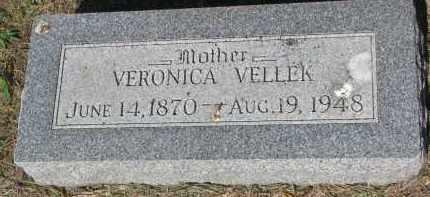 VELLEK, VERONICA - Bon Homme County, South Dakota | VERONICA VELLEK - South Dakota Gravestone Photos