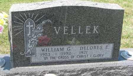VELLEK, DELORES E. - Bon Homme County, South Dakota | DELORES E. VELLEK - South Dakota Gravestone Photos
