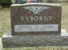 VYBORNY, CLARA - Bon Homme County, South Dakota | CLARA VYBORNY - South Dakota Gravestone Photos