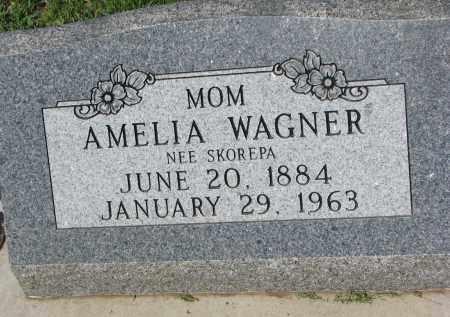 SKOREPA WAGNER, AMELIA - Bon Homme County, South Dakota | AMELIA SKOREPA WAGNER - South Dakota Gravestone Photos