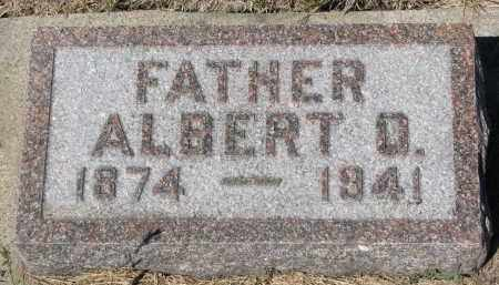 WAGNER, ALBERT D. - Bon Homme County, South Dakota | ALBERT D. WAGNER - South Dakota Gravestone Photos