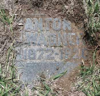 WAGNER, ANTON J. - Bon Homme County, South Dakota   ANTON J. WAGNER - South Dakota Gravestone Photos