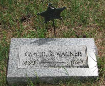 WAGNER, B.R. (CAPT.) - Bon Homme County, South Dakota | B.R. (CAPT.) WAGNER - South Dakota Gravestone Photos