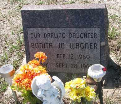 WAGNER, BONITA JO - Bon Homme County, South Dakota | BONITA JO WAGNER - South Dakota Gravestone Photos
