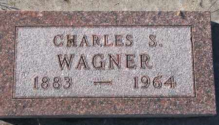 WAGNER, CHARLES S. - Bon Homme County, South Dakota | CHARLES S. WAGNER - South Dakota Gravestone Photos