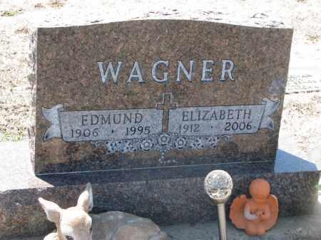 WAGNER, ELIZABETH - Bon Homme County, South Dakota | ELIZABETH WAGNER - South Dakota Gravestone Photos