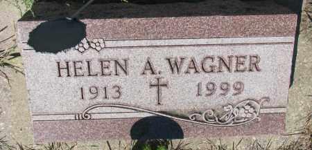 WAGNER, HELEN A. - Bon Homme County, South Dakota   HELEN A. WAGNER - South Dakota Gravestone Photos
