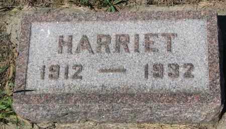 WAGNER, HARRIET - Bon Homme County, South Dakota   HARRIET WAGNER - South Dakota Gravestone Photos