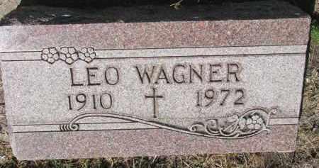 WAGNER, LEO - Bon Homme County, South Dakota | LEO WAGNER - South Dakota Gravestone Photos
