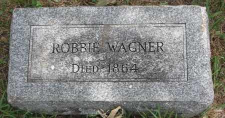 WAGNER, ROBBIE - Bon Homme County, South Dakota   ROBBIE WAGNER - South Dakota Gravestone Photos