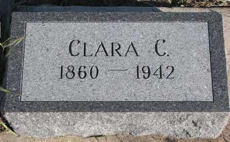 WALLACE, CLARA C. - Bon Homme County, South Dakota | CLARA C. WALLACE - South Dakota Gravestone Photos