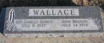 WALLACE, CHARLES QUINCY - Bon Homme County, South Dakota | CHARLES QUINCY WALLACE - South Dakota Gravestone Photos