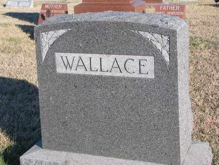 WALLACE, FAMILY STONE - Bon Homme County, South Dakota | FAMILY STONE WALLACE - South Dakota Gravestone Photos