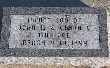 WALLACE, INFANT BOY - Bon Homme County, South Dakota | INFANT BOY WALLACE - South Dakota Gravestone Photos