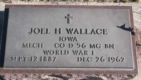 WALLACE, JOEL H. - Bon Homme County, South Dakota | JOEL H. WALLACE - South Dakota Gravestone Photos