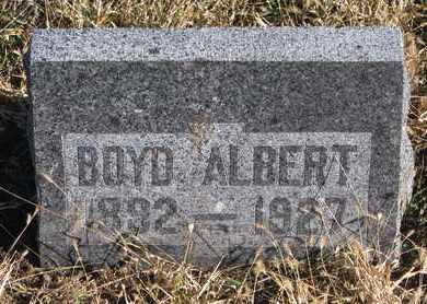 WALPOLE, BOYD ALBERT - Bon Homme County, South Dakota | BOYD ALBERT WALPOLE - South Dakota Gravestone Photos