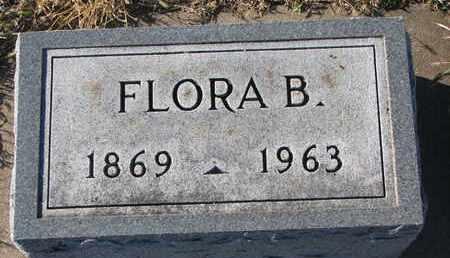 WALPOLE, FLORA B. - Bon Homme County, South Dakota   FLORA B. WALPOLE - South Dakota Gravestone Photos
