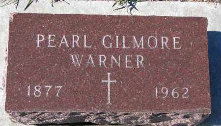 GILMORE WARNER, PEARL - Bon Homme County, South Dakota | PEARL GILMORE WARNER - South Dakota Gravestone Photos