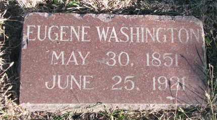 WASHINGTON, EUGENE - Bon Homme County, South Dakota | EUGENE WASHINGTON - South Dakota Gravestone Photos