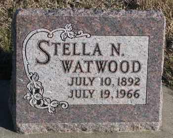 WATWOOD, STELLA N. - Bon Homme County, South Dakota | STELLA N. WATWOOD - South Dakota Gravestone Photos