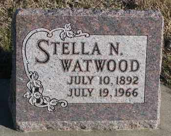WATWOOD, STELLA N. - Bon Homme County, South Dakota | STELLA N. WATWOOD - South Dakota Gravestone Photos