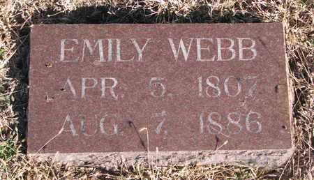 WEBB, EMILY - Bon Homme County, South Dakota | EMILY WEBB - South Dakota Gravestone Photos