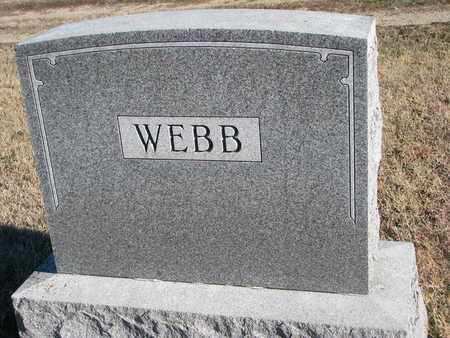 WEBB, FAMILY STONE - Bon Homme County, South Dakota | FAMILY STONE WEBB - South Dakota Gravestone Photos