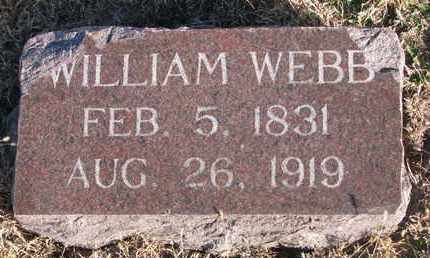 WEBB, WILLIAM - Bon Homme County, South Dakota | WILLIAM WEBB - South Dakota Gravestone Photos
