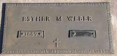 WEBER, ESTHER M. - Bon Homme County, South Dakota | ESTHER M. WEBER - South Dakota Gravestone Photos