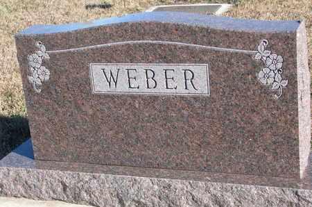 WEBER, FAMILY STONE - Bon Homme County, South Dakota | FAMILY STONE WEBER - South Dakota Gravestone Photos