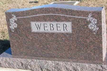 WEBER, FAMILY STONE - Bon Homme County, South Dakota | FAMILY STONE WEBER - South Dakota Gravestone Photos