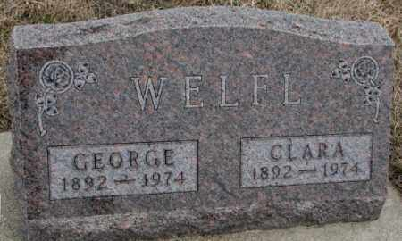 WELFL, CLARA - Bon Homme County, South Dakota | CLARA WELFL - South Dakota Gravestone Photos