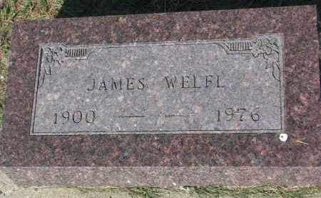 WELFL, JAMES - Bon Homme County, South Dakota | JAMES WELFL - South Dakota Gravestone Photos