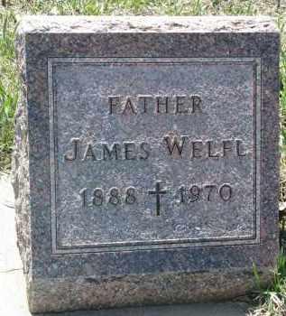 WELFL, JAMES - Bon Homme County, South Dakota | JAMES WELFL - South Dakota Gravestone Photos