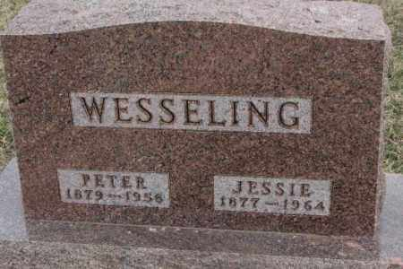 WESSELING, PETER - Bon Homme County, South Dakota | PETER WESSELING - South Dakota Gravestone Photos