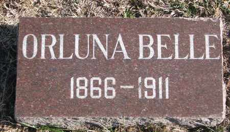 WHITING, ORLUNA BELLE - Bon Homme County, South Dakota | ORLUNA BELLE WHITING - South Dakota Gravestone Photos
