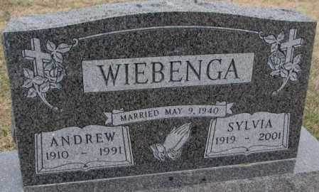 WIEBENGA, SYLVIA - Bon Homme County, South Dakota | SYLVIA WIEBENGA - South Dakota Gravestone Photos