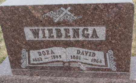 WIEBENGA, DORA - Bon Homme County, South Dakota | DORA WIEBENGA - South Dakota Gravestone Photos