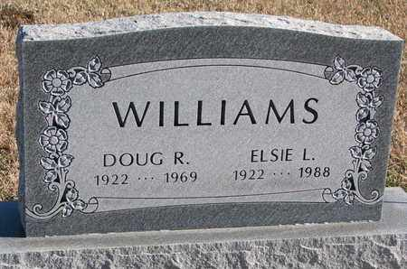 WILLIAMS, DOUG R. - Bon Homme County, South Dakota | DOUG R. WILLIAMS - South Dakota Gravestone Photos