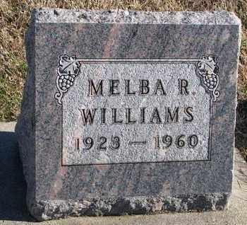 WILLIAMS, MELBA R. - Bon Homme County, South Dakota | MELBA R. WILLIAMS - South Dakota Gravestone Photos