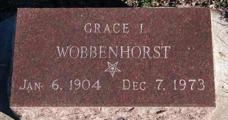 WOBBENHORST, GRACE I. - Bon Homme County, South Dakota | GRACE I. WOBBENHORST - South Dakota Gravestone Photos