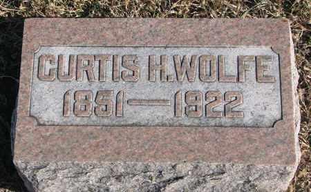 WOLFE, CURTIS H. - Bon Homme County, South Dakota | CURTIS H. WOLFE - South Dakota Gravestone Photos