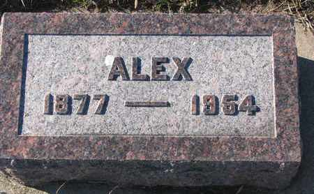 WOOD, ALEX - Bon Homme County, South Dakota   ALEX WOOD - South Dakota Gravestone Photos