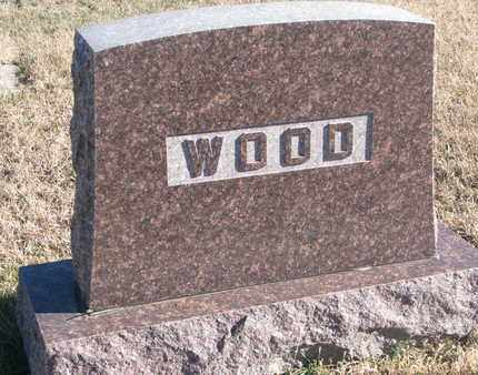 WOOD, FAMILY STONE - Bon Homme County, South Dakota | FAMILY STONE WOOD - South Dakota Gravestone Photos